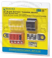 Электрика Blue Sea ST Blade Battery Terminal Mount Fuse Block Kit 5024
